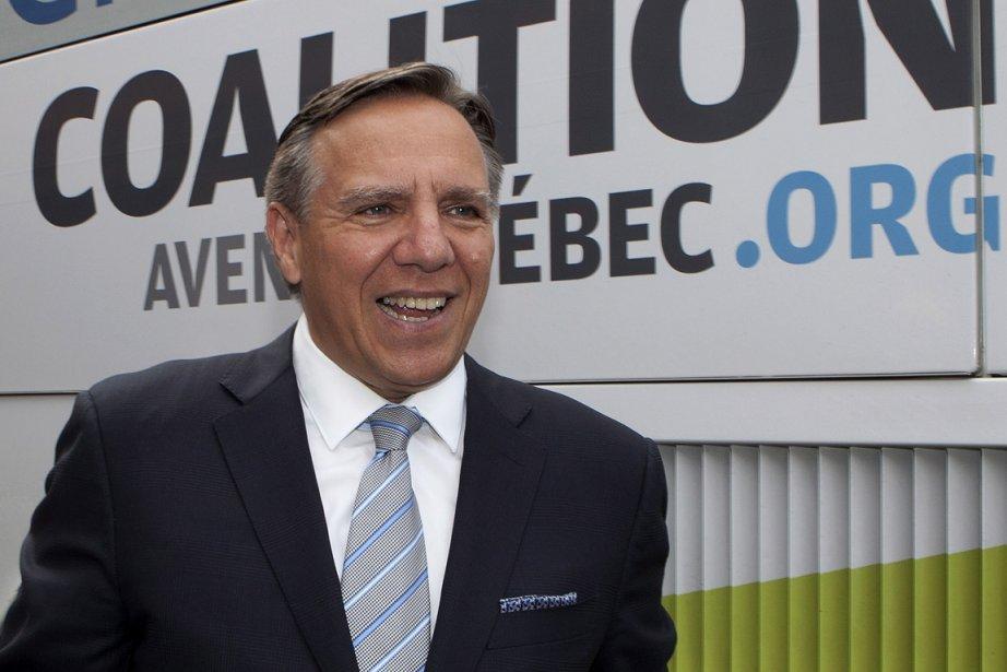 François Legault, chef de la Coalition avenir Québec... (Photo: PC)