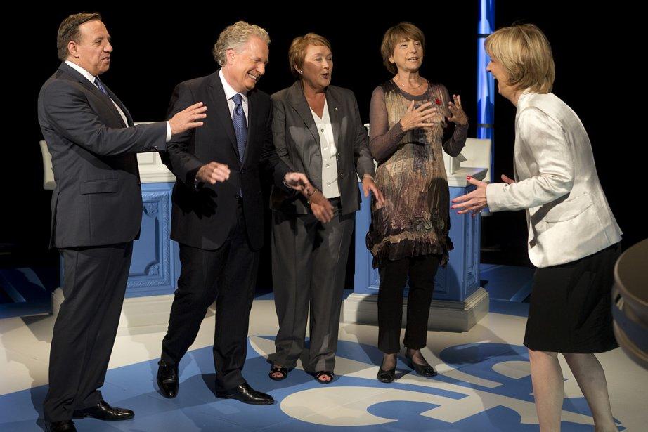 Quel impact aura ce débat des chefs sur... (Photo: Robert Skinner, La Presse)