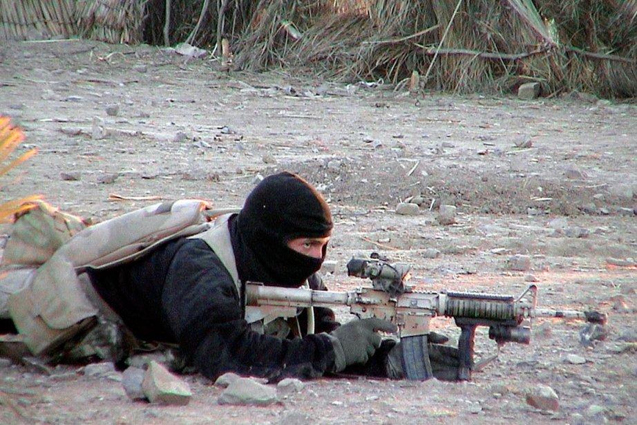 Un membre des SEAL en Afghanistan.... (PHOTO ARCHIVES AFP/DÉPARTEMENT DE LA DÉFENSE AMÉRICAINE)