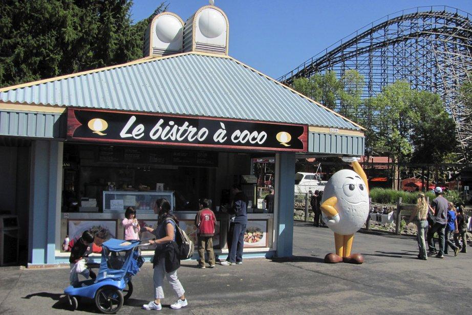 Le bistro à coco, qui offrait de la... (Photo: fournie par la FPOCQ)