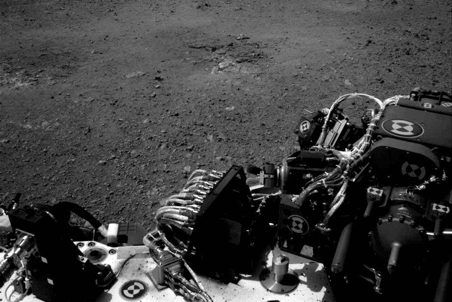 Curiosity, un programme au budget de 2,5 milliards... (Photo: NASA)