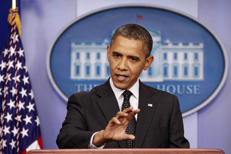 Barack Obama est notamment revenu à la charge... (Photo: Reuters)