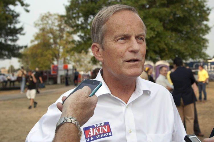 Todd Akin, candidat républicain pour le siège du... (Photo: AP)