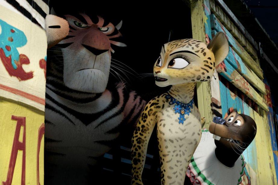 Une image de Madagascar 3.... (Photo fournie par Dreamworks/Paramount)