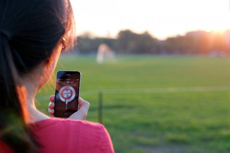 L'application Cardiio a été conçue par des chercheurs... (Photo fournie par Cardiio)