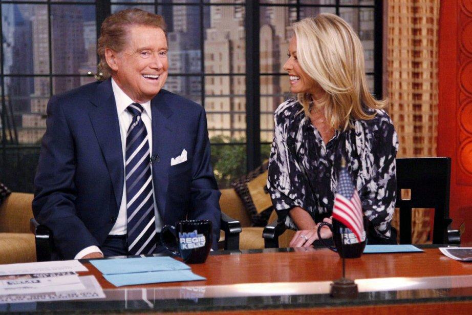 Regis Philbin et Kelly Ripa à l'émission Live... (Photo: PC)