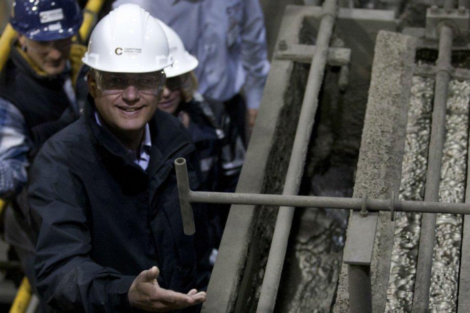 Le premier ministre Stephen Harper a profité de... (PHOTO LA PRESSE CANADIENNE)