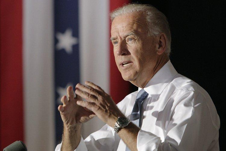 Le vice-président Joe Biden, qui faisait campagne en... (Photo: AP)
