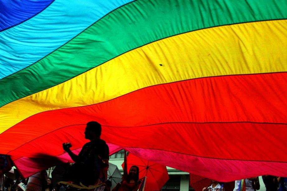 Un groupe de défense des droits des gais... (PHOTO ARCHIVES AFP)