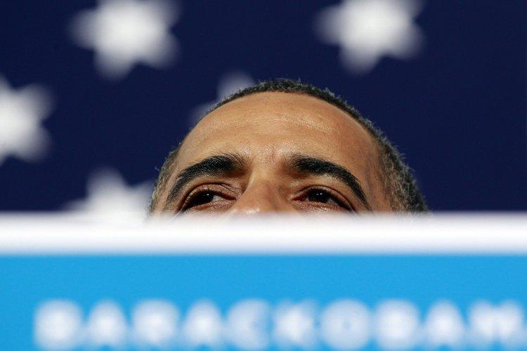Barack Obama a fait campagne dans le Nevada... (Photo: Reuters)