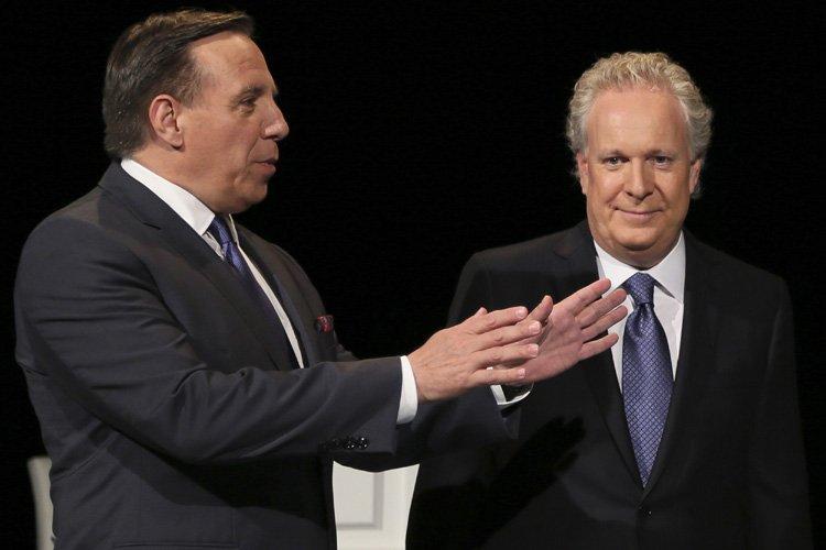 Un face-à-face intense où, visiblement, les deux adversaires... (Photo: Reuters)