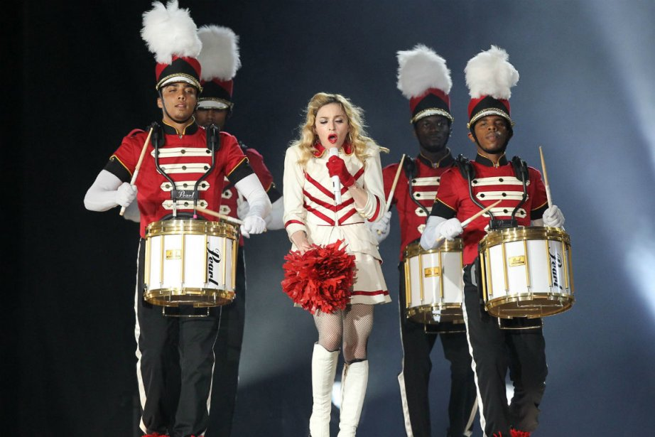 Madonna en concert à Nice mardi... (PHOTO AFP)