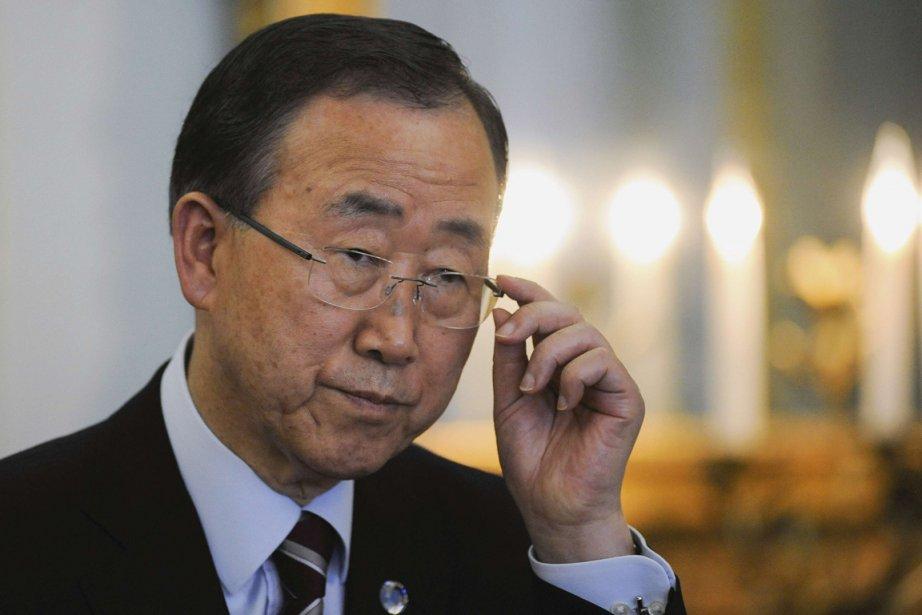 Ban Ki-moon... (PHOTO KI PRICE, REUTERS)