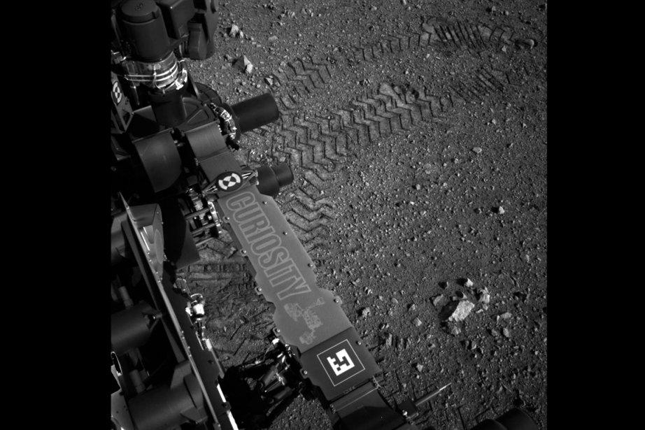 Curiosity, qui s'est posé sur Mars récemment, après... (Photo NASA)