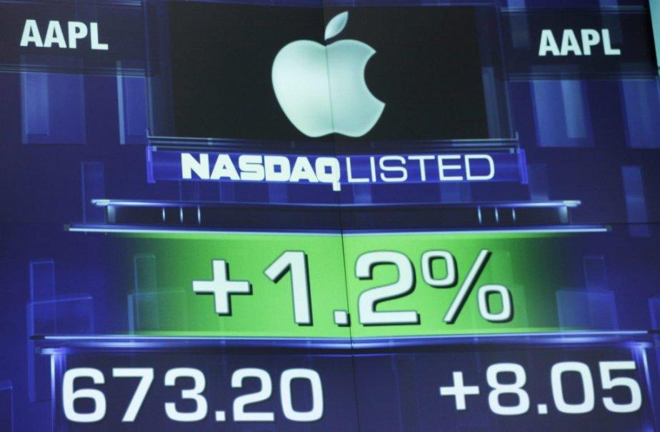 Les actions d'Apple valent 80 fois plus qu'il...