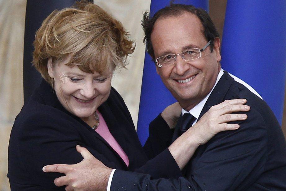 Cette rencontre entre la chancelière allemande et le... (Photo Associated Press)