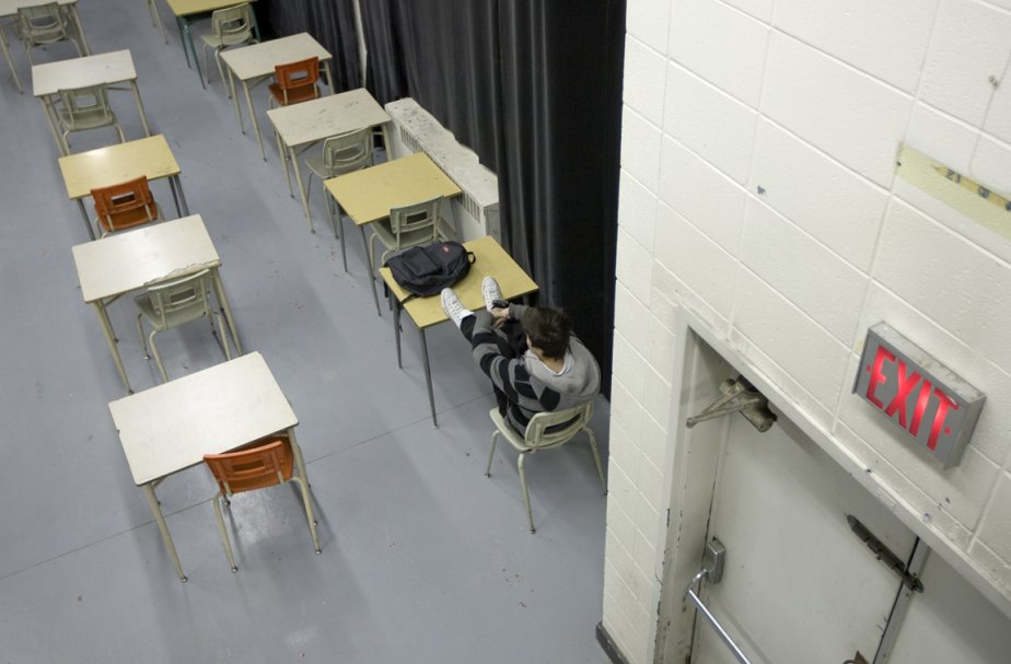 L'école John-F. Kennedy.... (Photo: Alain Roberge, La Presse (Archives))
