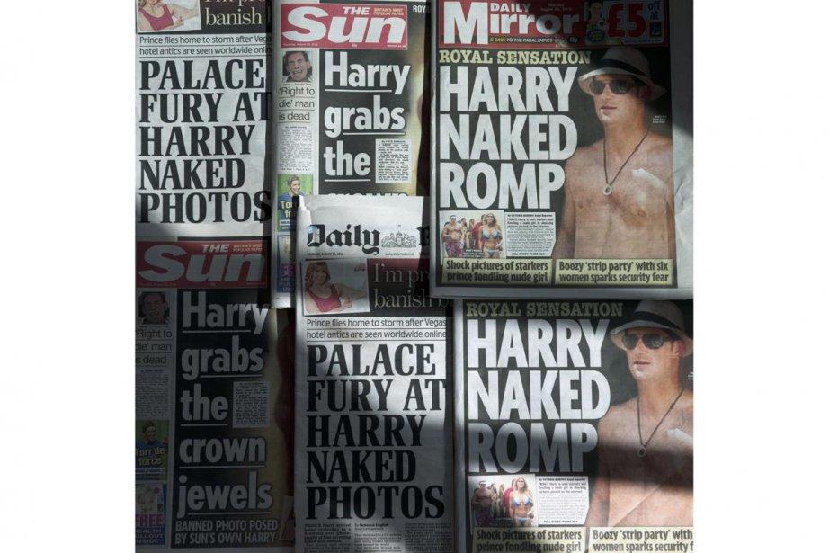 La presse britannique, jadis réputée pour tout oser, s'est... (Photo: AFP)