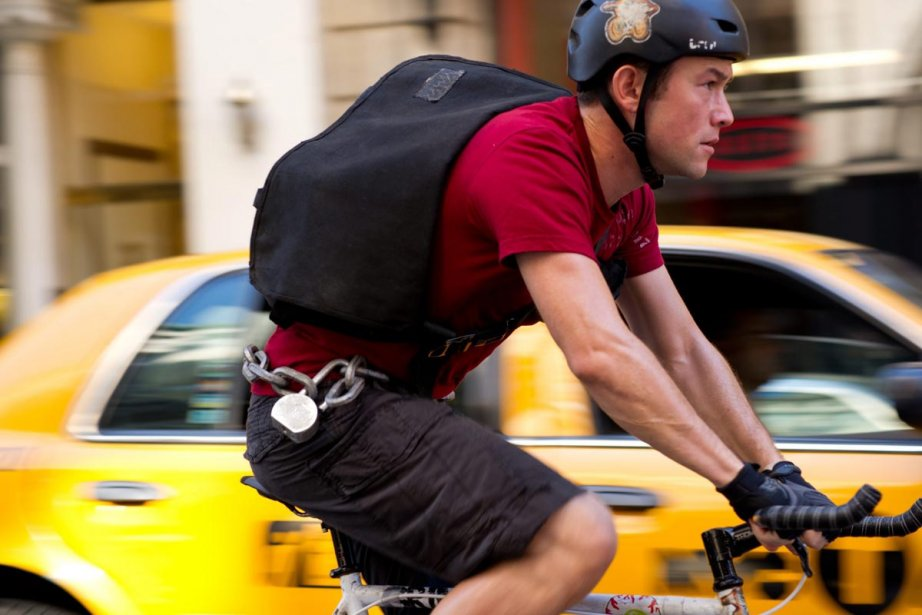 Premium Rush met en vedette Joseph Gordon-Levitt.... (Photo: fournie par Columbia Pictures)
