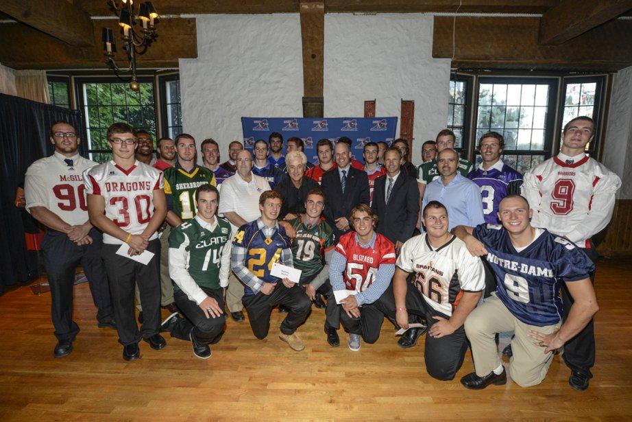 Les... (Photo fournie par la Fondation de l'athlète d'excellence du Québec.)