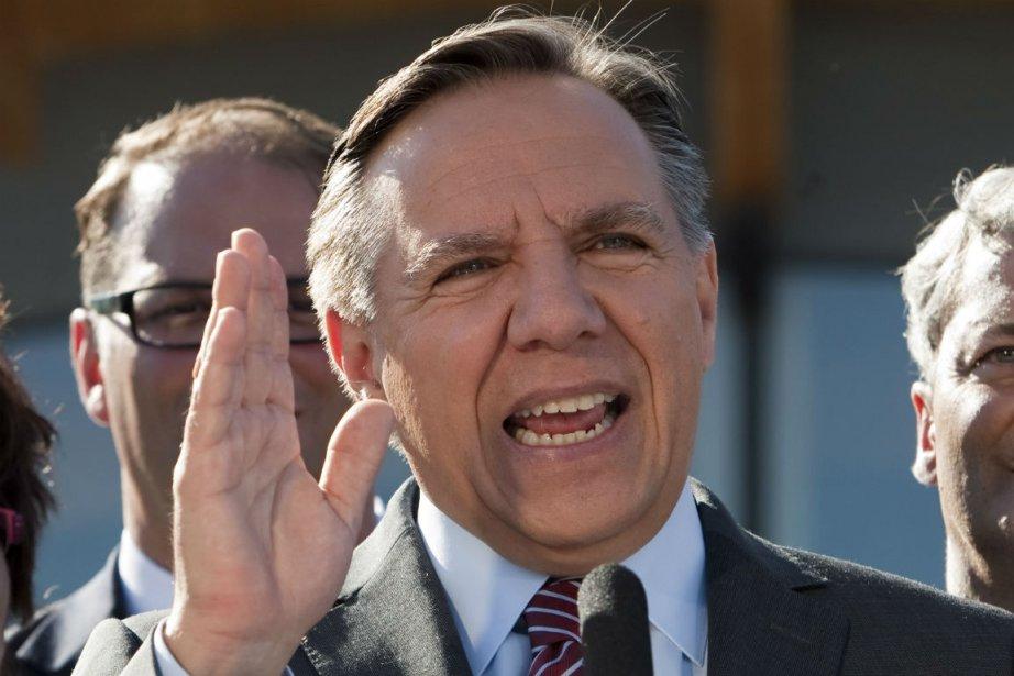 Le chef de la Coalition avenir Québec, François... (Photo Clément Allard, La Presse Canadienne)