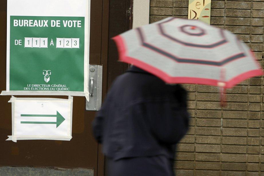 Un bureau de scrutin dans Rosemont, lors des... (Photo: François Roy, archives La Presse)