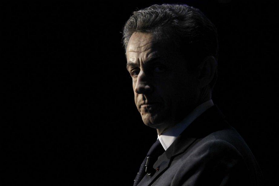 L'ex-président français Nicolas Sarkozy.... (Photo Kenzo Tribouillard, archives Agence France-Presse)