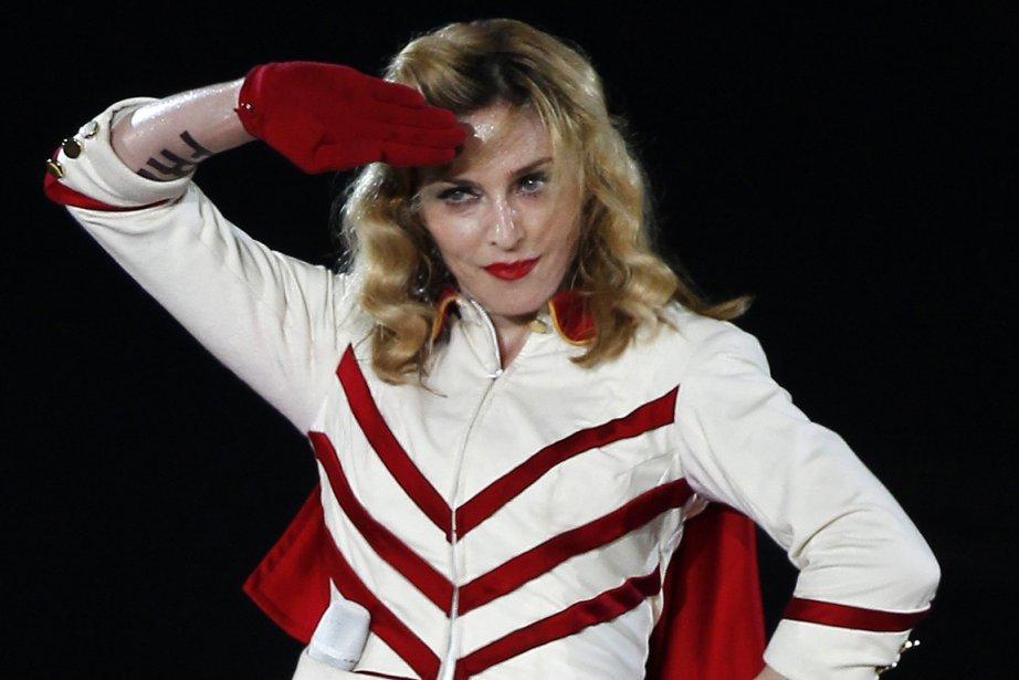 Madonna.... (Photo: Reuters)