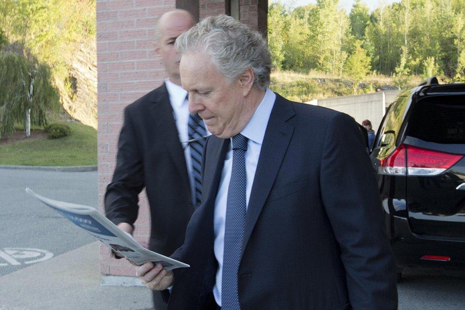 Jean Charest, chef du Parti libéral du Québec,... (Photo: Alain Roberge, La Presse)