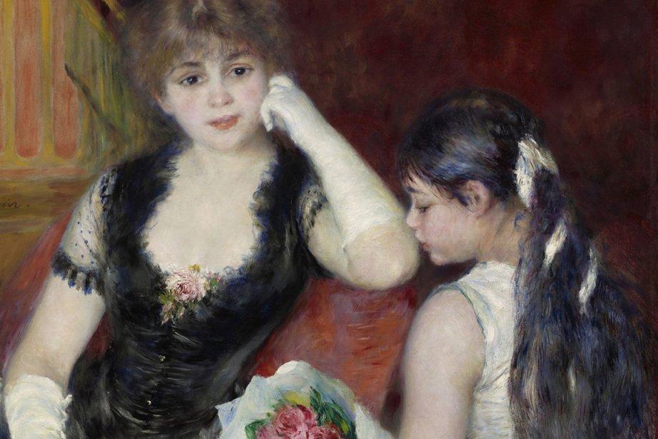 Photographie de l'oeuvre d'Auguste Renoir - Une loge...