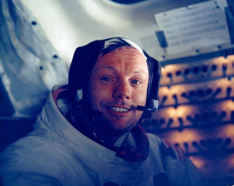 Une photo du 20 juillet 1969 (PHOTO ARCHIVES AP -- NASA)