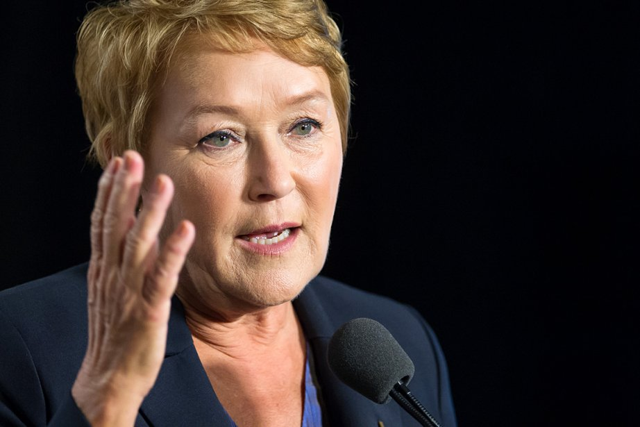 Pauline Marois, chef du Parti québécois, photographiée le... (Photo: Édouard Plante-Fréchette, La Presse)