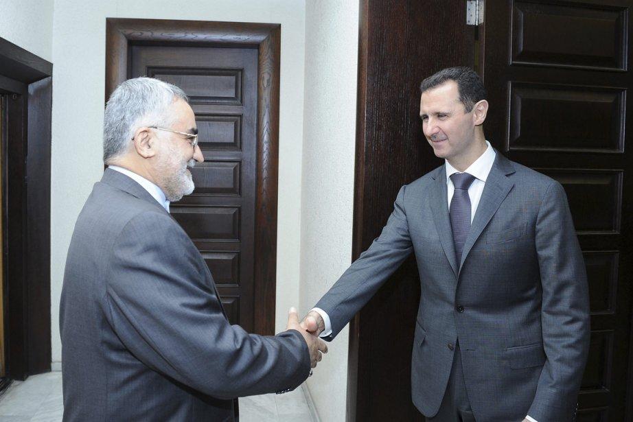 Alaeddine Boroujerdi, le président de la commission parlementaire... (Photo : Reuters)