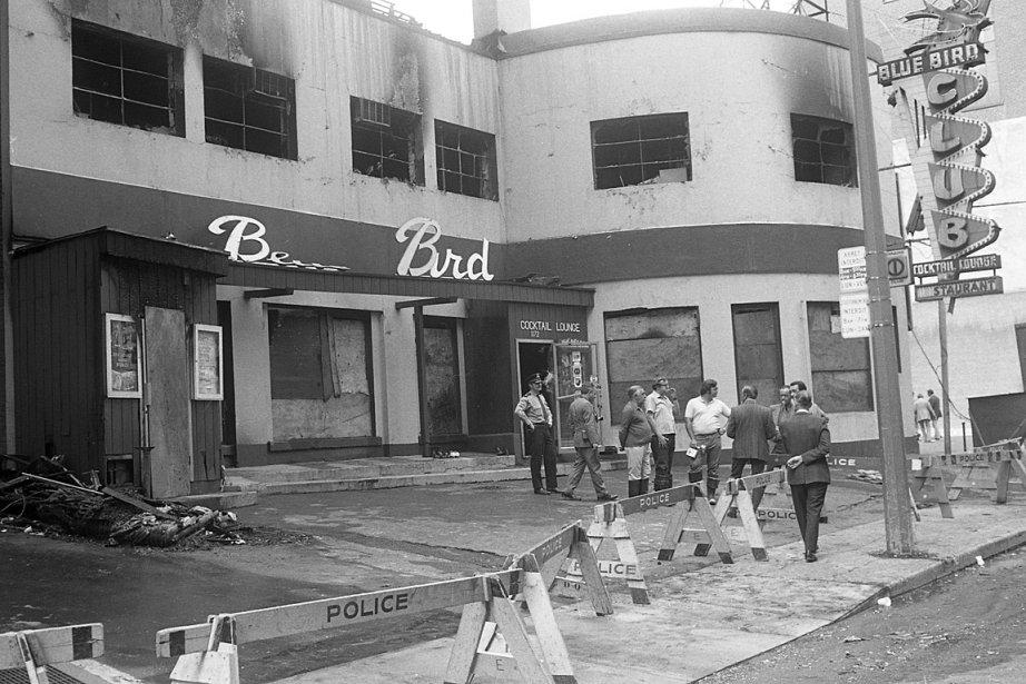Le feu du café Blue Bird compte parmi... (Photo: archives La Presse)