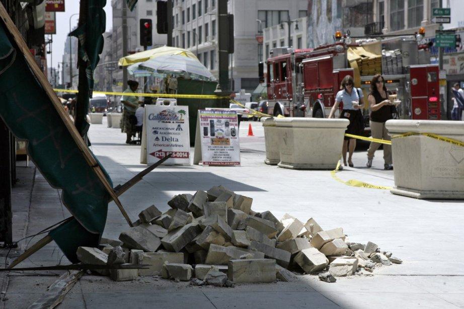 Une série de séismes a secoué la Californie.... (Photo AP)
