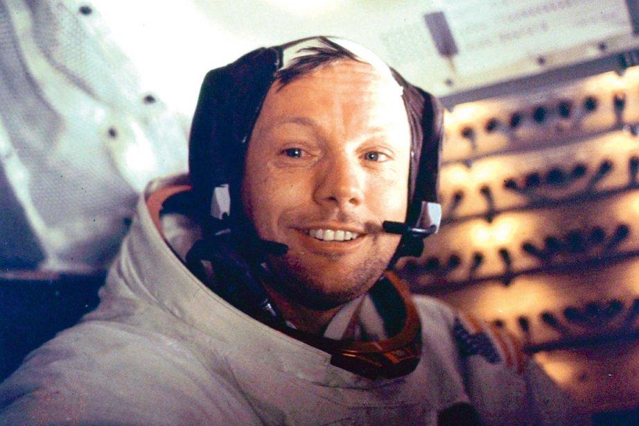 Neil Armstrong, le premier homme a avoir foulé... (PHOTO ARCHIVES AFP)