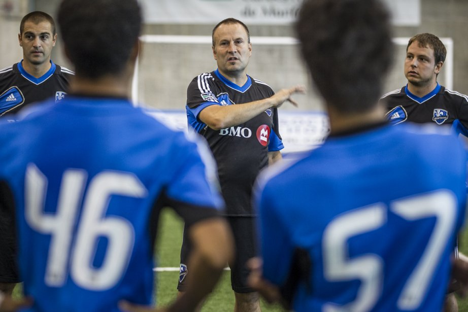 Philippe Eullaffroy, entraîneur de l'Académie de l'Impact de... (Photo: Olivier PontBriand, La Presse)