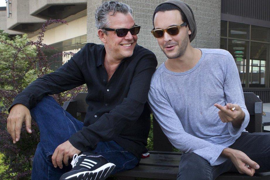 Oncle et neveu dans la vie, Danny et... (Photo: Robert Skinner, La Presse)