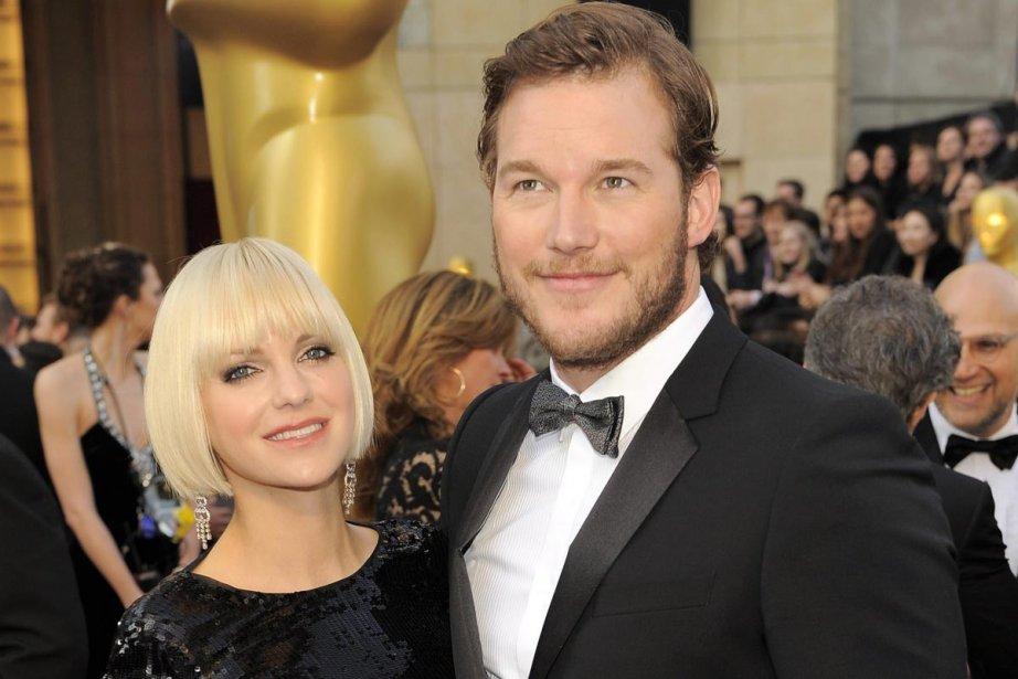 Anna Faris en compagnie de son mari, l'acteur... (Photo: AP)