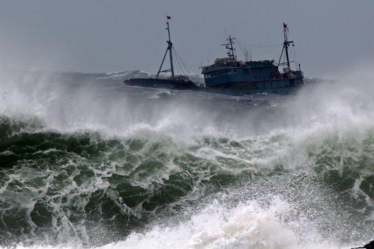 Les autorités sud-coréennes ont interdit l'entrée du port... (Photo: AFP)