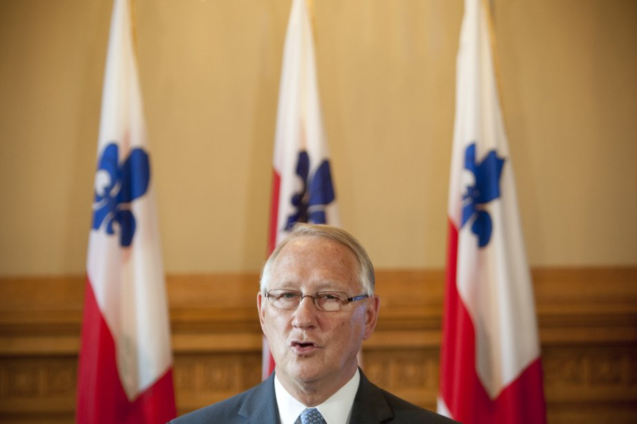 Gérald Tremblay, maire de Montréal... (PHOTO DAVID BOILY, LA PRESSE)