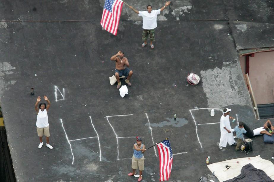 Les 29 et 30 août 2005, l'ouraganKatrina, l'un... (PHOTO DAVID J. PHILLIP, ARCHIVES AP)