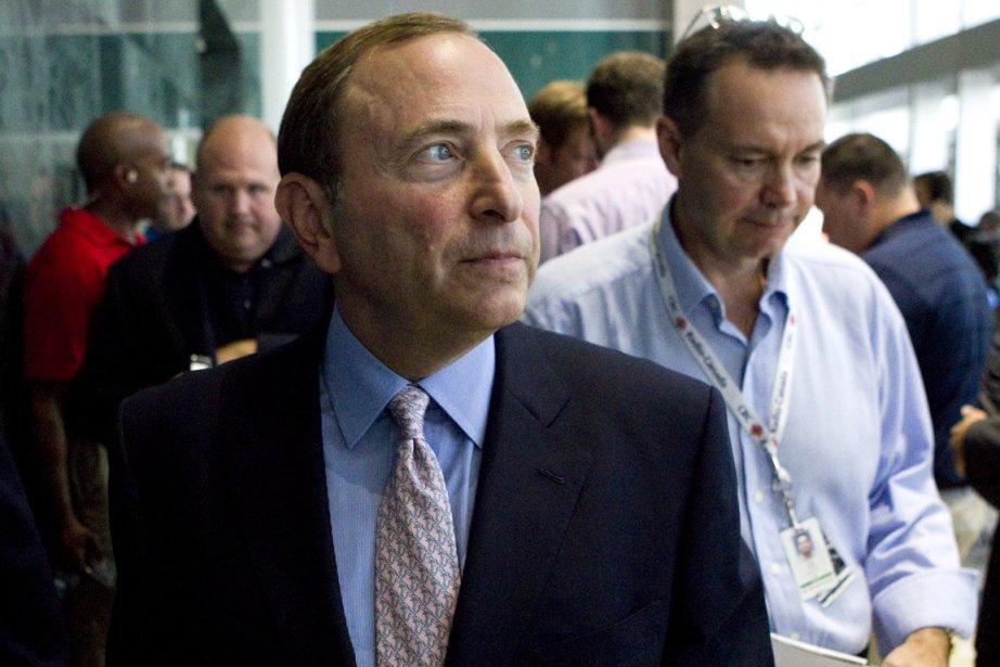 Le commissaire de la LNH, Gary Bettman.... (Photo: PC)