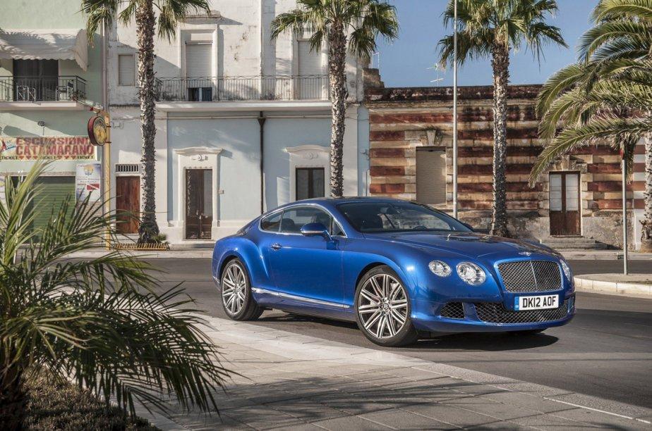 La Bentley Continental GT Speed va faire ses... (Photo fournie par Bentley)