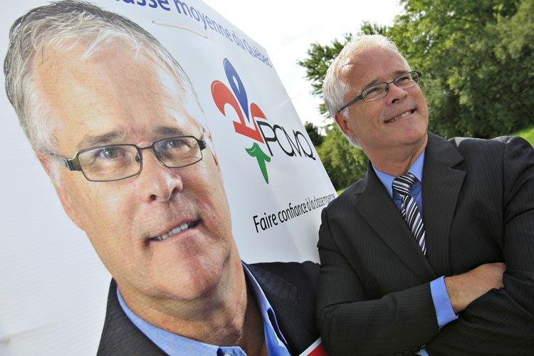 Jean Lavoie, chef du tout jeune Parti de... (Photo: Le Soleil)