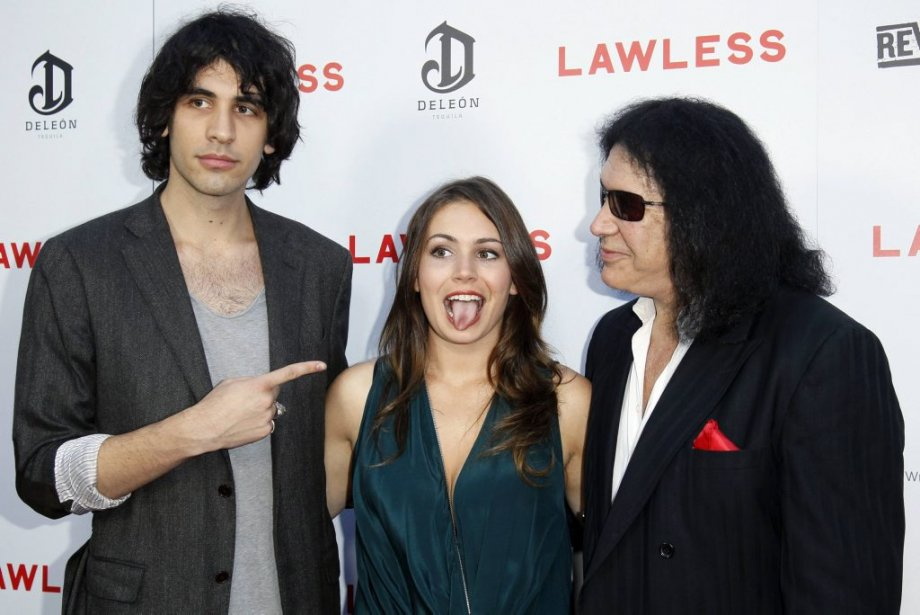 Nick Simmons, Sophie Simmons et Gene Simmons | 29 août 2012
