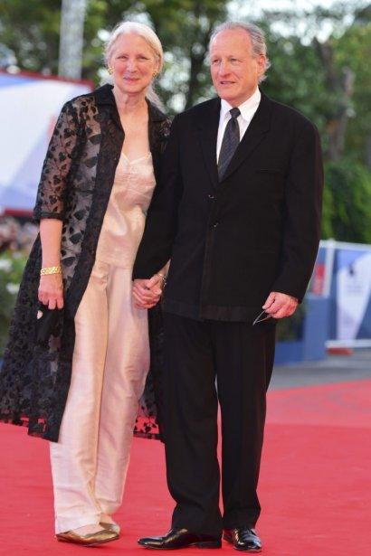 Le président du jury, Michael Mann, en compagnie de sa femme. | 30 août 2012