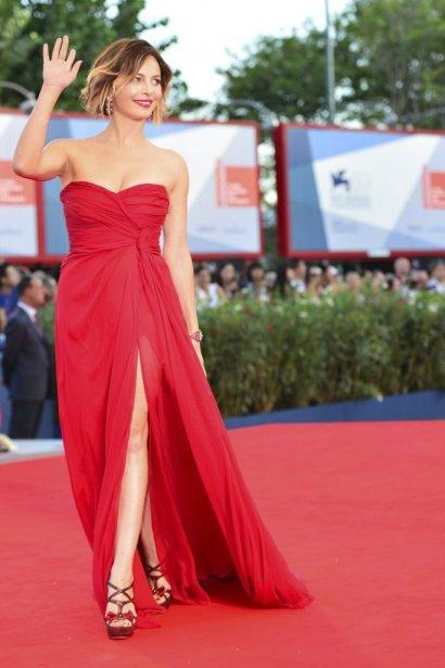 L'actrice italienne Violante Placido | 30 août 2012