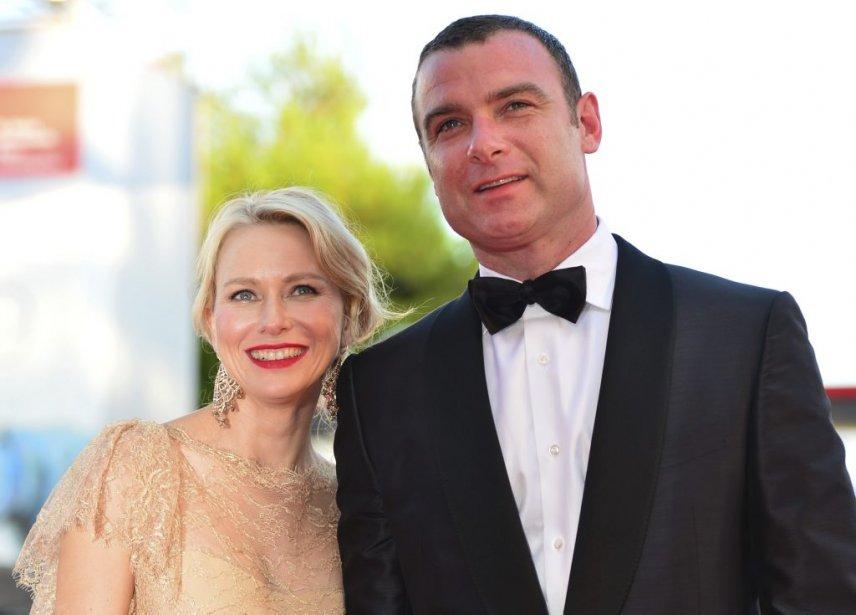 Naomi Watts et Liev Schreiber | 30 août 2012