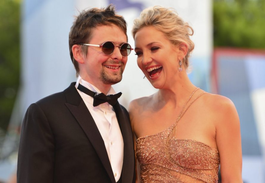 Kate Hudson et le chanteur Matt Bellamy | 30 août 2012